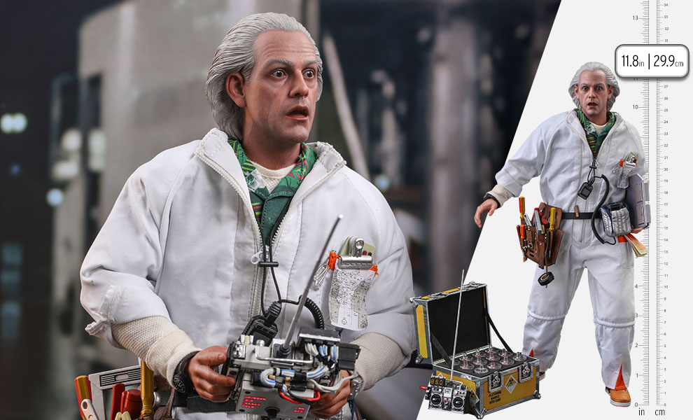 Gallery Feature Image of Doc Brown (Deluxe Version) Sixth Scale Figure - Click to open image gallery