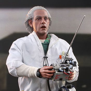 Doc Brown (Deluxe Version) Sixth Scale Figure
