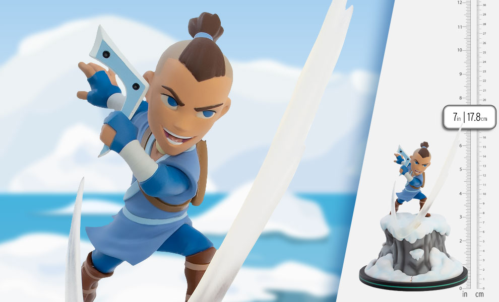 Gallery Feature Image of Sokka Q-Fig Elite Collectible Figure - Click to open image gallery