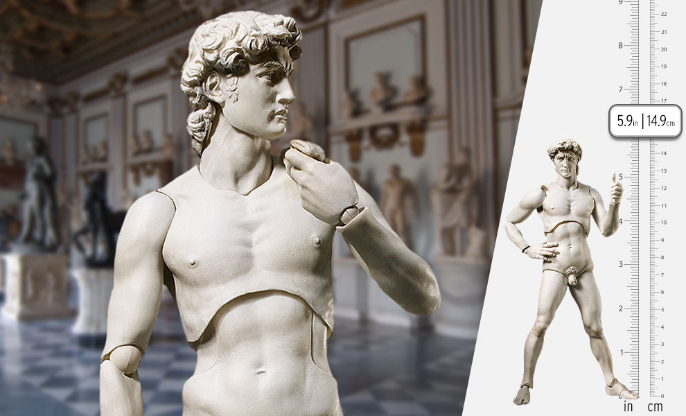 Gallery Feature Image of Davide di Michelangelo Figma Collectible Figure - Click to open image gallery