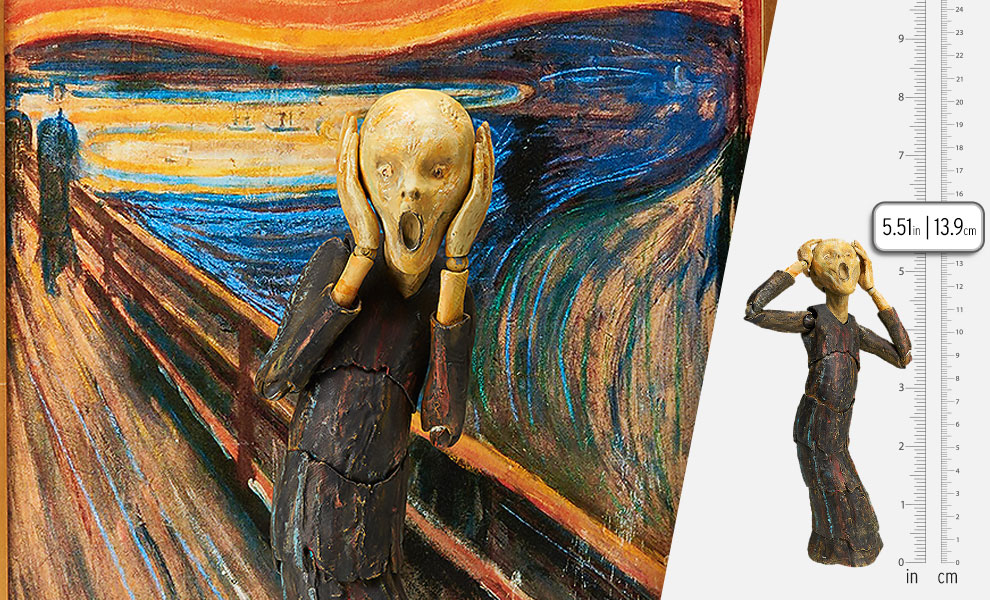 Gallery Feature Image of The Scream Figma Collectible Figure - Click to open image gallery