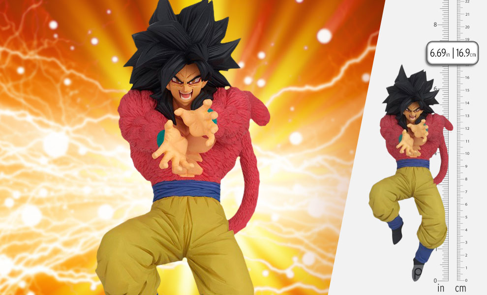 Gallery Feature Image of Super Saiyan 4 Son Goku Collectible Figure - Click to open image gallery
