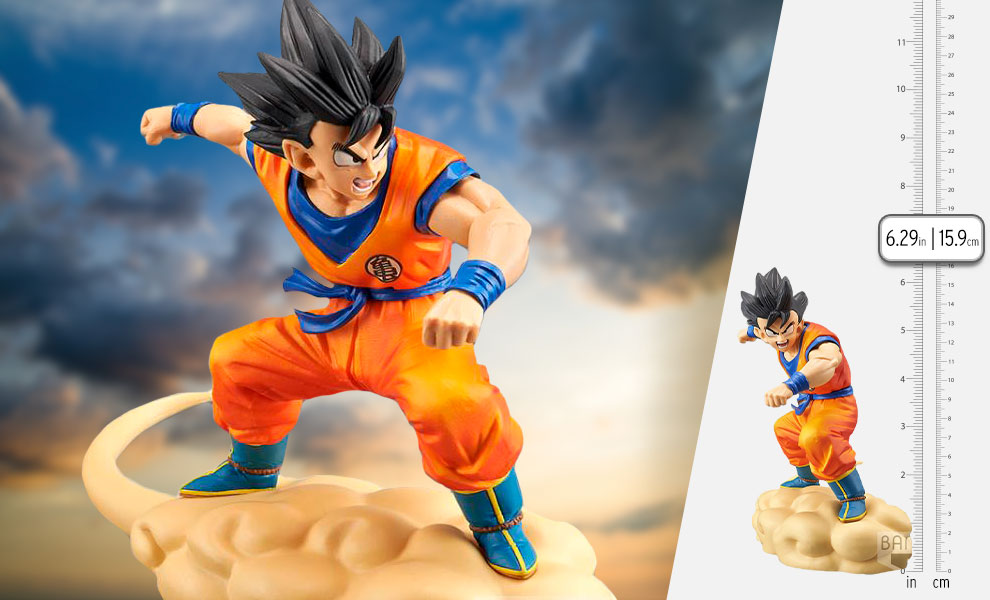 Gallery Feature Image of Hurry! Flying Nimbus!! Son Goku Collectible Figure - Click to open image gallery