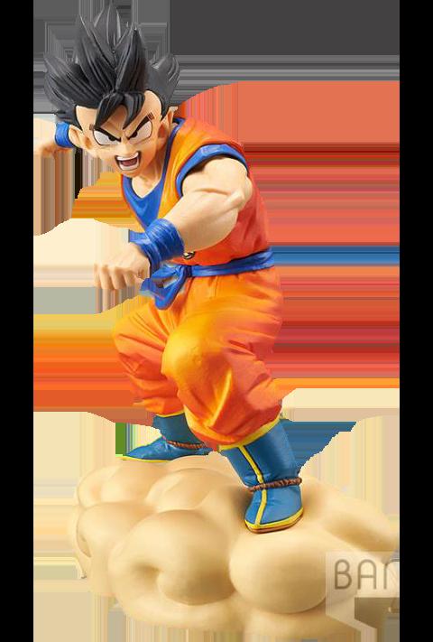 Banpresto Hurry! Flying Nimbus!! Son Goku Collectible Figure