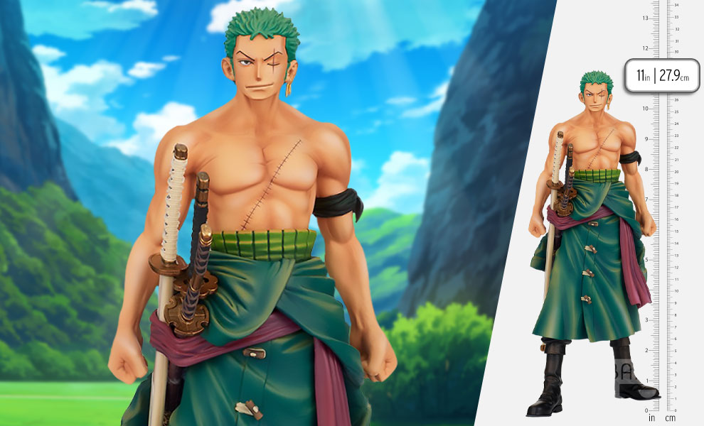 Gallery Feature Image of The Roronoa Zoro Collectible Figure - Click to open image gallery