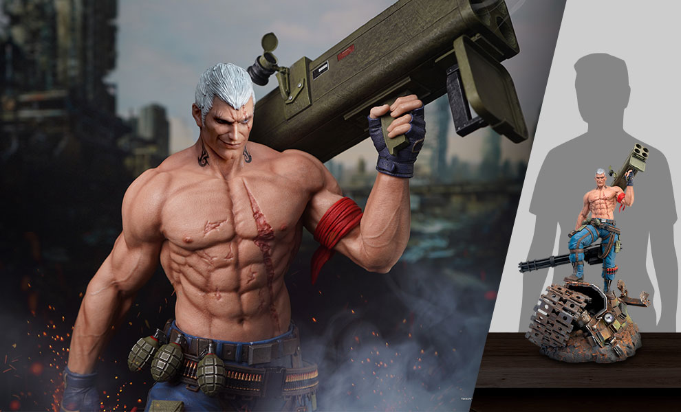 Gallery Feature Image of Bryan Fury Quarter Scale Statue - Click to open image gallery