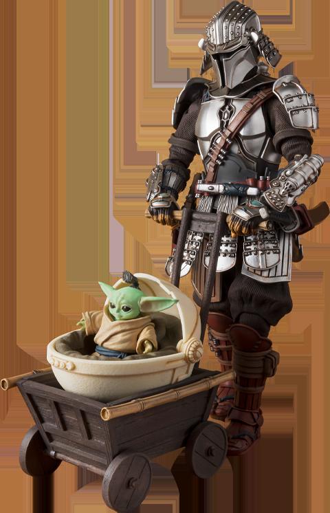 Bandai Ronin Mandalorian™ & Grogu™ (Beskar Armor) Collectible Set