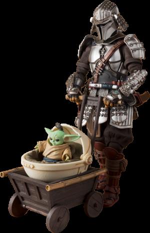 Ronin Mandalorian™ & Grogu™ (Beskar Armor) Collectible Set