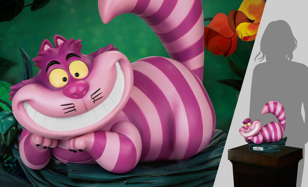 Gallery Feature Image of The Cheshire Cat Statue - Click to open image gallery