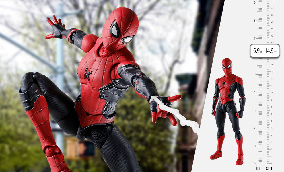 Gallery Feature Image of Spider-Man (Upgraded Suit) Collectible Figure - Click to open image gallery
