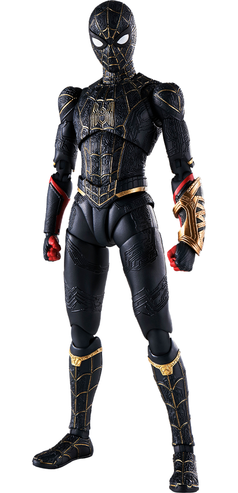 Bandai Spider-Man (Black and Gold Suit) Collectible Figure