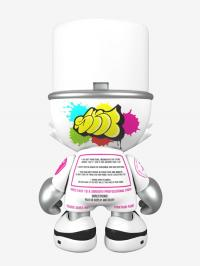 Gallery Image of Glossy White SuperKranky Designer Collectible Toy