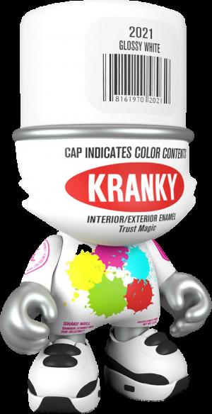 Glossy White SuperKranky Designer Collectible Toy