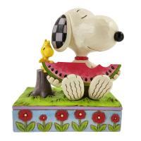 Gallery Image of Snoopy Watermelon Figurine