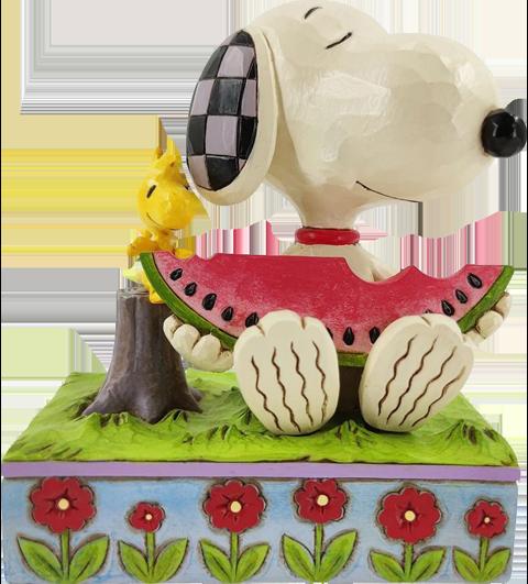 Enesco, LLC Snoopy Watermelon Figurine