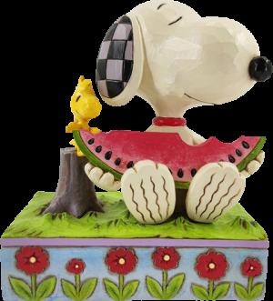 Snoopy Watermelon Figurine