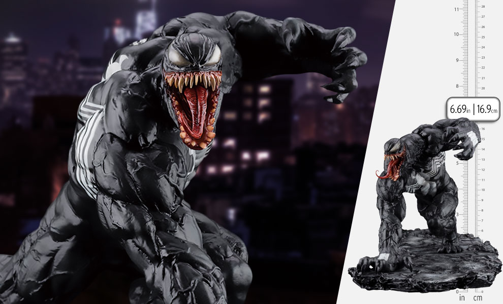 Gallery Feature Image of Venom Renewal Edition 1:10 Scale Statue - Click to open image gallery