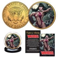 Gallery Image of Vampirella (Stanley Artgerm Lau) #1 Gold Coin Gold Collectible