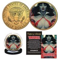 Gallery Image of Vampirella (Stanley Artgerm Lau) #2 Gold Coin Gold Collectible