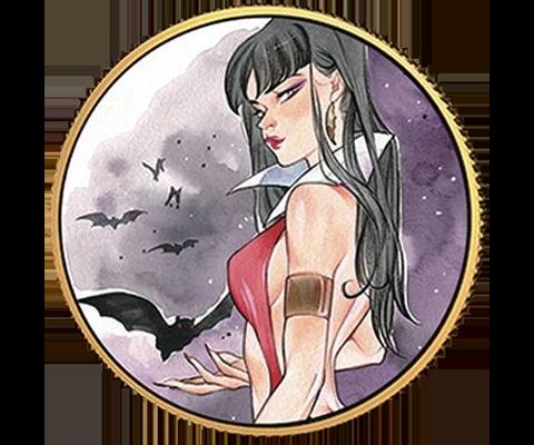 Dynamite Entertainment Vampirella (Peach Momoko) Gold Coin Gold Collectible
