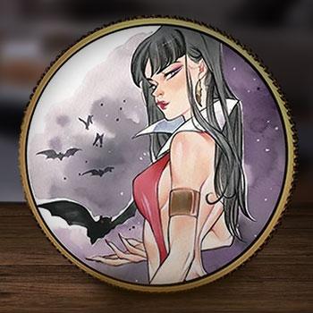 Vampirella (Peach Momoko) Gold Coin Gold Collectible