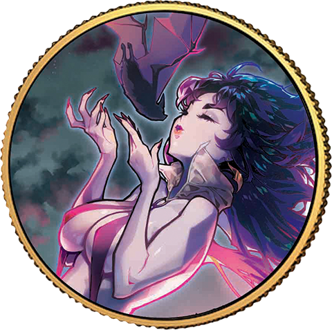 Dynamite Entertainment Vampirella (Rose Besch #1) Gold Coin Gold Collectible
