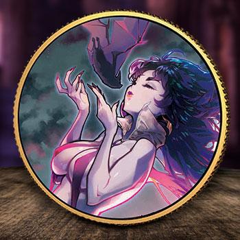 Vampirella (Rose Besch #1) Gold Coin Gold Collectible