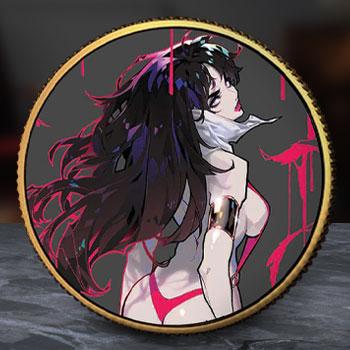 Vampirella (Rose Besch #2) Gold Coin Gold Collectible