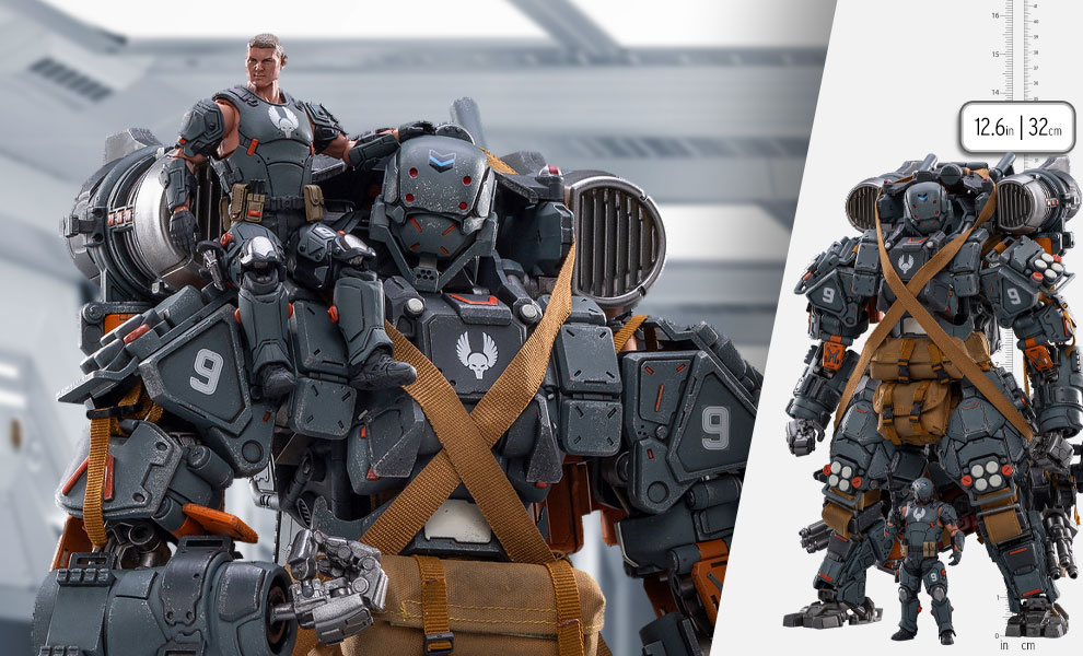 Gallery Feature Image of FEAR V (Airborne Assault Type) Collectible Figure - Click to open image gallery