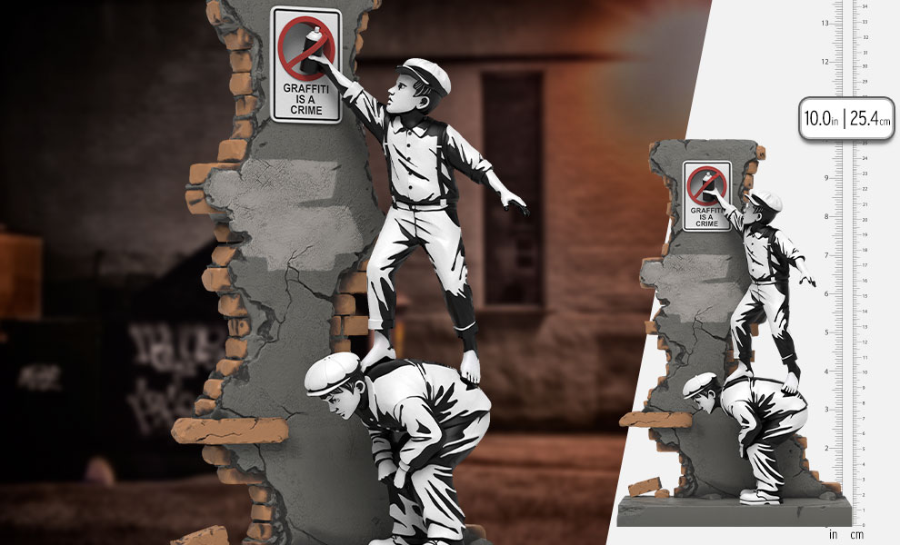 Gallery Feature Image of Graffiti Crime Polystone Statue - Click to open image gallery