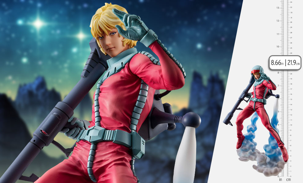 Gallery Feature Image of Char Aznable Normal Suit Version Collectible Figure - Click to open image gallery