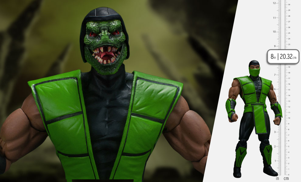 Gallery Feature Image of Reptile Action Figure - Click to open image gallery