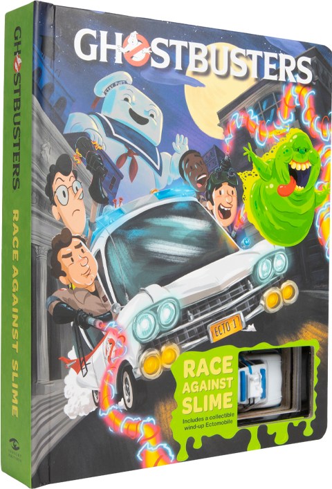 Insight Editions Ghostbusters Ectomobile: Race Against Slime Book