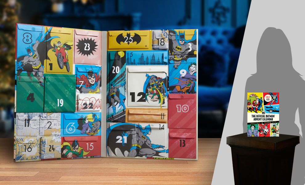 Gallery Feature Image of The Official Batman Advent Calendar Book - Click to open image gallery
