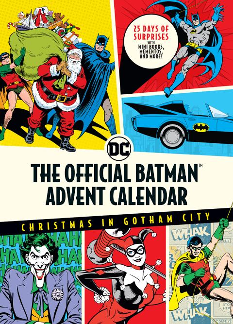 Insight Editions The Official Batman Advent Calendar Book