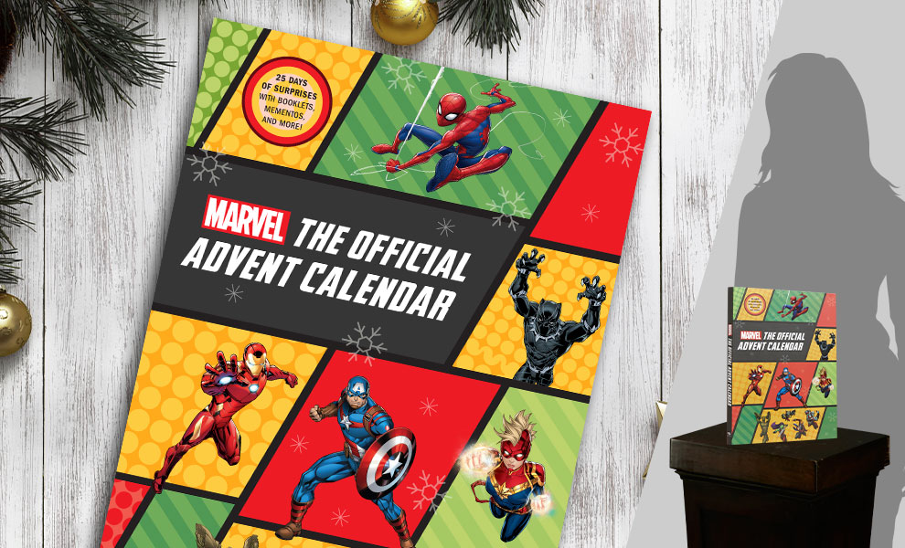 Gallery Feature Image of Marvel: The Official Advent Calendar Book - Click to open image gallery