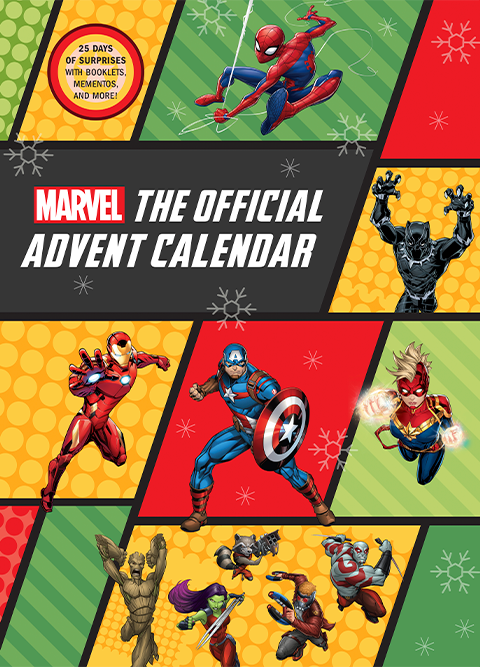 Insight Editions Marvel: The Official Advent Calendar Book
