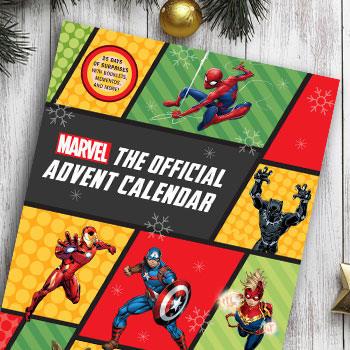 Marvel: The Official Advent Calendar Book