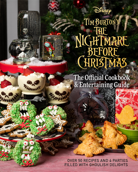 Insight Editions The Nightmare Before Christmas: The Official Cookbook & Entertaining Guide Book