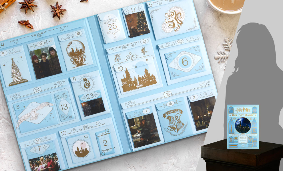 Gallery Feature Image of Harry Potter: Holiday Magic: The Official Advent Calendar Book - Click to open image gallery