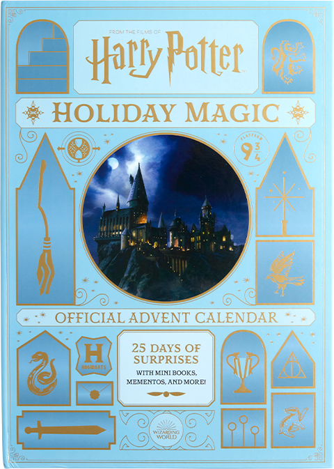 Insight Editions Harry Potter: Holiday Magic: The Official Advent Calendar Book
