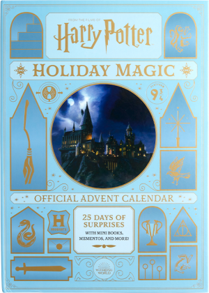 Harry Potter: Holiday Magic: The Official Advent Calendar Book