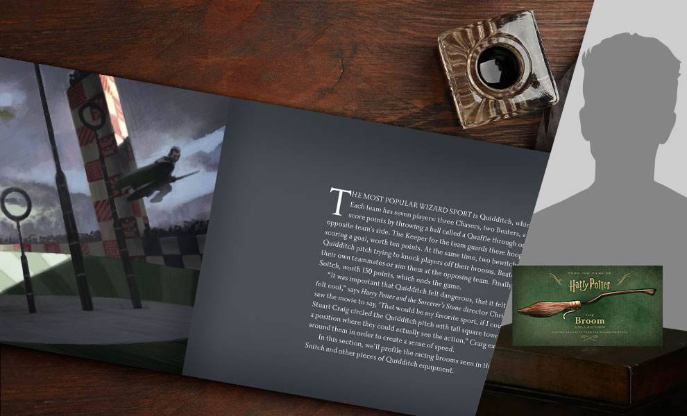 Gallery Feature Image of Harry Potter: The Broom Collection Book - Click to open image gallery
