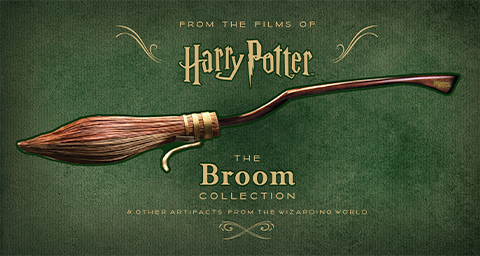 Insight Editions Harry Potter: The Broom Collection Book