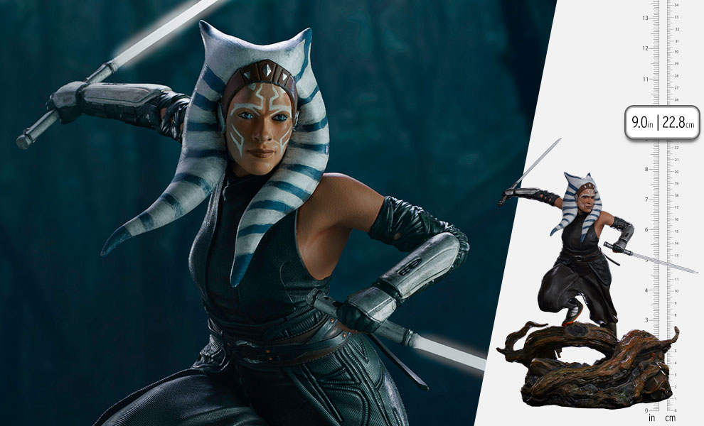 Gallery Feature Image of Ahsoka Tano 1:10 Scale Statue - Click to open image gallery