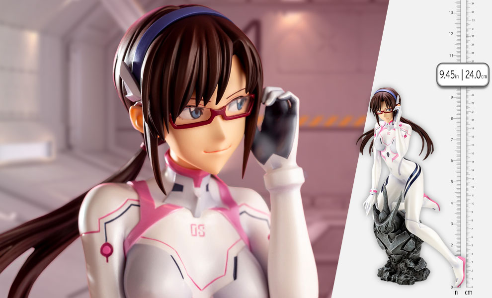 Gallery Feature Image of Mari Makinami Illustrious White Plugsuit Version Statue - Click to open image gallery