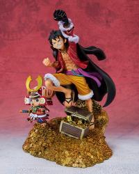 "Gallery Image of Monkey D. Luffy (WT100 Commemorative Eiichiro Oda Illustration ""DAIKAIZOKU HYAKKEI"") Collectible Set"