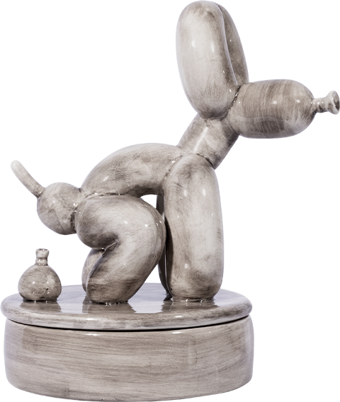 Mighty Jaxx POPek Incense Chamber (Black Edition) Collectible Figure