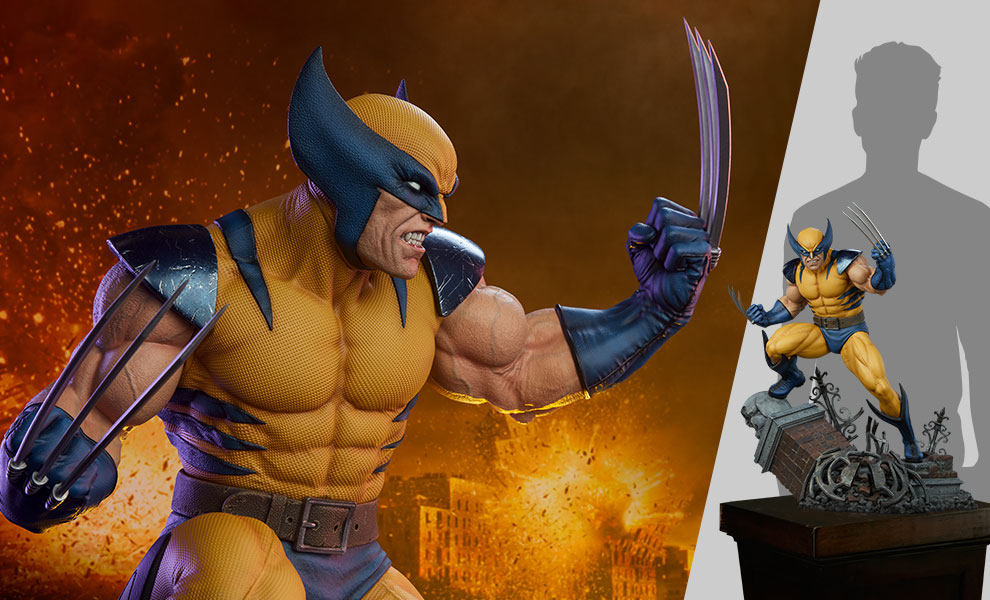 Gallery Feature Image of Wolverine 1:3 Scale Statue - Click to open image gallery