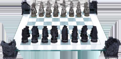 Nemesis Now Vampire & Werewolf Chess Set Board Game